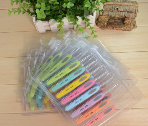 Plastic Crochet Hooks Needles exporting from factory